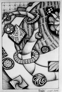 Zentangle Odessy
